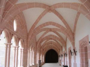 Abbaye de Cîteaux : Galerie de la Bibliothèque (XIIIe XVIe siècles).