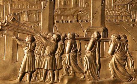 Prise de Jéricho - au pays de Canaan - par les Hébreux.