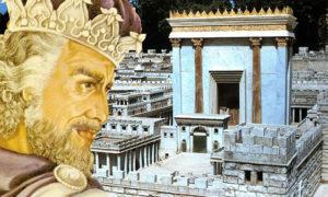 Le Temple de Salomon est le premier temple construit, quelque dix siècles avant l'ère actuelle.